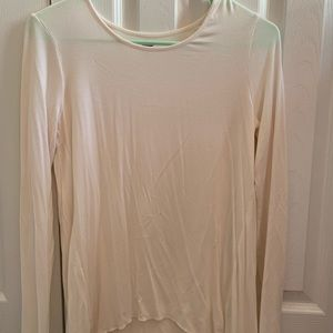 Old Navy White Long Sleeve
